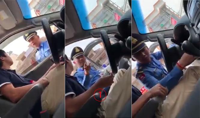 ผู้บังคับการตำรวจ จ.พระสีหนุ บอกว่า การกระทำเช่นนี้ทำให้เกียรติยศและชื่อเสียงของตำรวจกัมพูชาเสื่อมหนัก และ จะถูกลงโทษสถานหนักที่สุด.