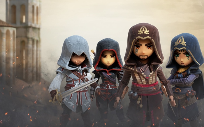 """ยูบิซอฟต์ เปิดตัวเกมมือถือ """"Assassin's Creed Rebellion"""" รวมพลคนเปื้อนเลือด"""
