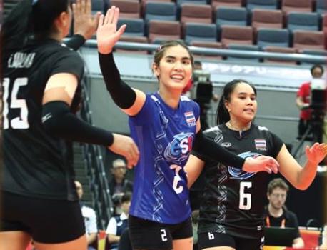 """""""ตุรกี"""" ซูฮกลูกยางสาวไทยใจโคตรสู้ ยกสุดแกร่งยอดทีมเอเชีย"""