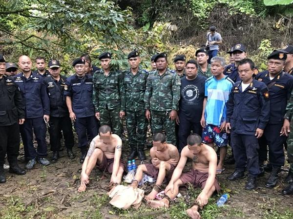 ไม่รอด 3 นักโทษชิงรถหนีจากศาลหลังสวน ถูกตามจับได้ยกทีม
