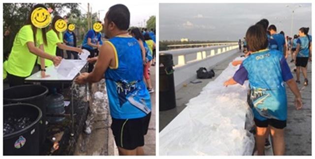 นักวิ่งบ่นผู้จักงานวิ่งการกุศลชลบุรี มาราธอน เหตุน้ำไม่เพียงพอกับผู้เข้าร่วมงาน, แอบหนีกลับก่อน