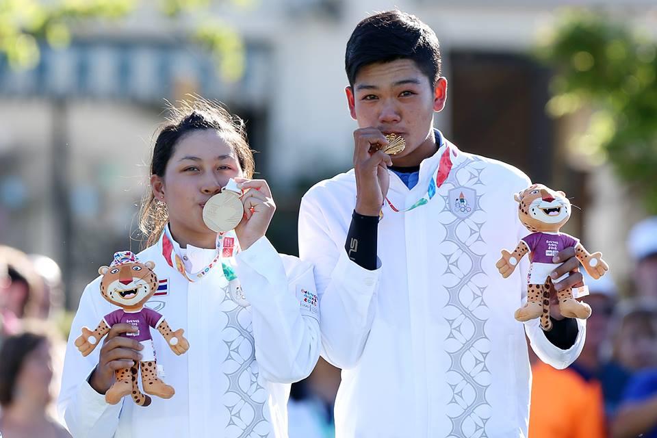ไทยผงาดคว้าทองทีมผสมยูธโอลิมปิกที่อาร์เจนติน่า