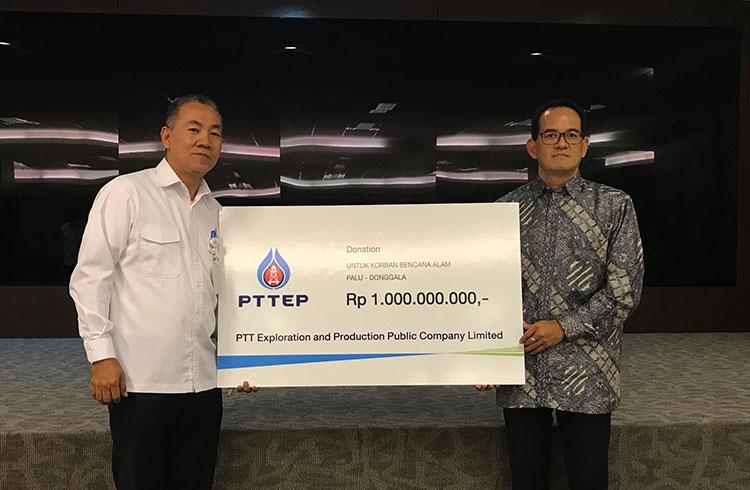 ปตท.สผ. ร่วมช่วยเหลือผู้ประสบภัยแผ่นดินไหวและคลื่นสึนามิในอินโดนีเซีย