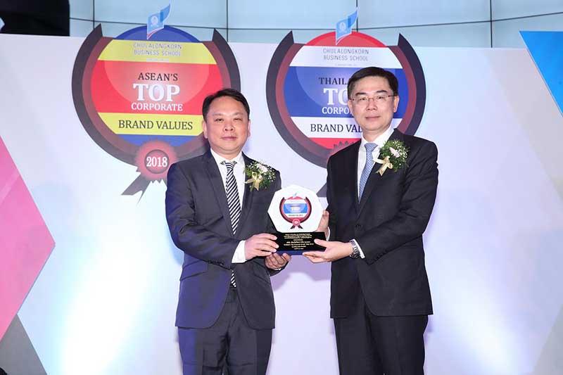 """ซีพีเอ็น ครองแชมป์รางวัล """"Thailand's Top Corporate Brands 2018"""" สุดยอดองค์กรที่มีมูลค่าแบรนด์สูงที่สุดในกลุ่มธุรกิจพัฒนาอสังหาริมทรัพย์ของไทย 5ปีซ้อน"""