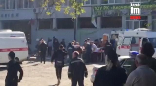 รัสเซียยังไม่รู้แรงจูงใจเหตุกราดยิงฆ่า17ศพในวิทยาลัยไครเมีย แต่เชื่อไม่ใช่'ก่อการร้าย'