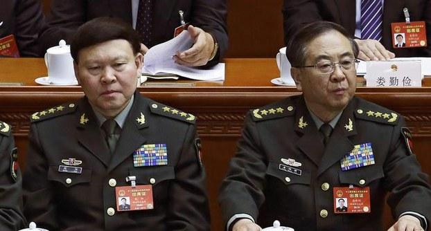 สองบิ๊กทหารจีน ถูกริบตำแหน่ง-ขับออกจากพรรคฯ เหตุคอรัปชั่น แม้ตายแล้วก็ไม่เว้น