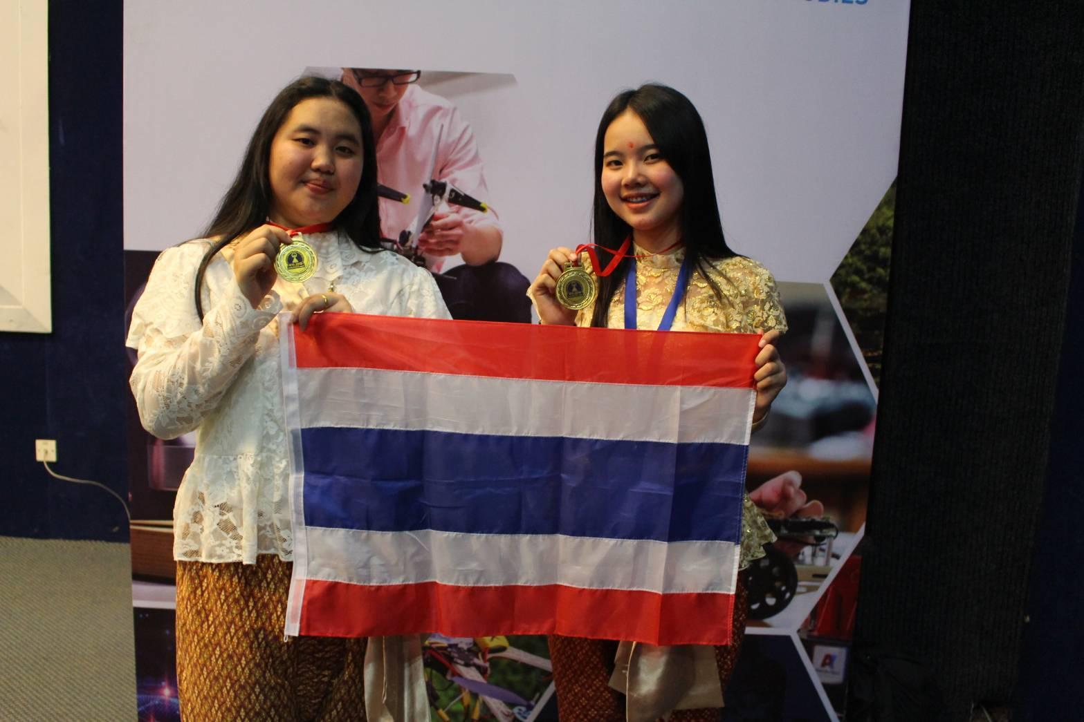 เด็กไทยกวาด 12 รางวัล เวทีประกวดสิ่งประดิษฐ์วิทยาศาสตร์นานาชาติ