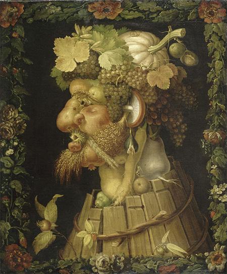 ฤดูใบไม้ร่วง (1573, พิพิธภัณฑ์ลูฟวร์ กรุงปารีส)