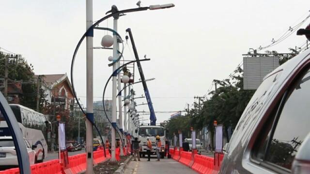 กฟภ.พัทยา ยันโครงการนำร่องพัฒนาระบบไฟฟ้าในเมืองพัทยาสายแรก แล้วเสร็จปี 62