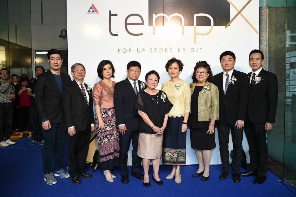 สถาบันอัญมณีฯ เปิดตัว TEMP Pop-Up Store ใช้เป็นแหล่งเรียนรู้ด้านแฟชั่นและการออกแบบ