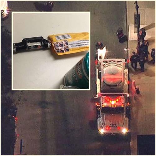 """InPics&Clips: ด่วน!! ดาราฮอลลีวูดรุ่นใหญ่ """"โรเบิร์ต เดอ นีโร"""" รับพัสดุยัดระเบิดท่อแป๊ป จ่าหน้าถึงร้านอาหารในแมนฮัตตัน พร้อม """"อดีตรองปธน.ไบเดน"""" ในรัฐเดลลาแวร์"""
