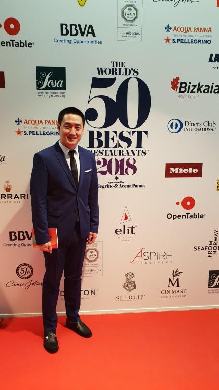 คนไทย คนแรก! ฤทธิ์ คิ้วคชา - ประธานคณะกรรมการคนใหม่ของรางวัลร้านอาหารโลก The World's 50 Best Restaurants