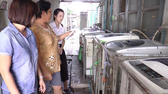 เจ้าของพ้อเศรษฐกิจไม่ค่อยดี คนร้ายยังงัดเครื่องซักผ้าหยอดเหรียญอีก