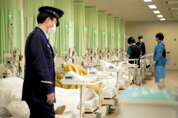 ศูนย์พยายาลในเรือนจำอากิชิมะ ชานกรุงโตเกียว ภาพโดย Nagisa Yokoyama