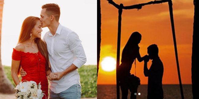 'มิก้า'คุกเข่าขอ'เทย่า' แต่งงาน พร้อมสวมแหวนท่ามกลางพระอาทิตย์ตกดิน