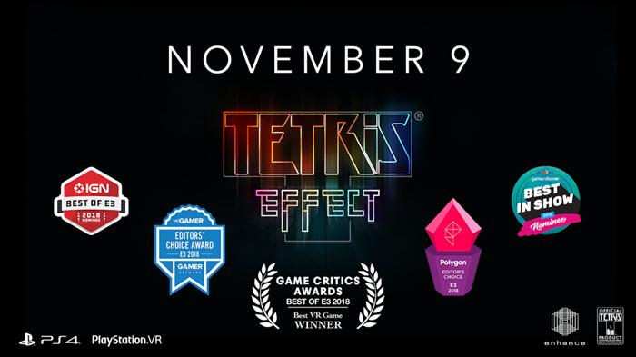 """เกมต่อบล็อคตระการตา """"Tetris Effect"""" วางจำหน่าย 9 พ.ย.นี้"""
