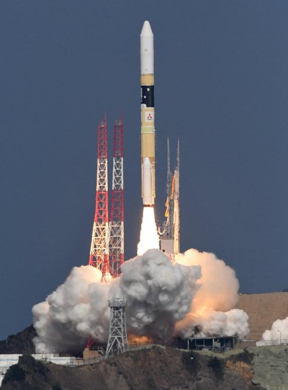 """ญี่ปุ่นส่งดาวเทียมไปตรวจตรา """"ก๊าซเรือนกระจก"""""""