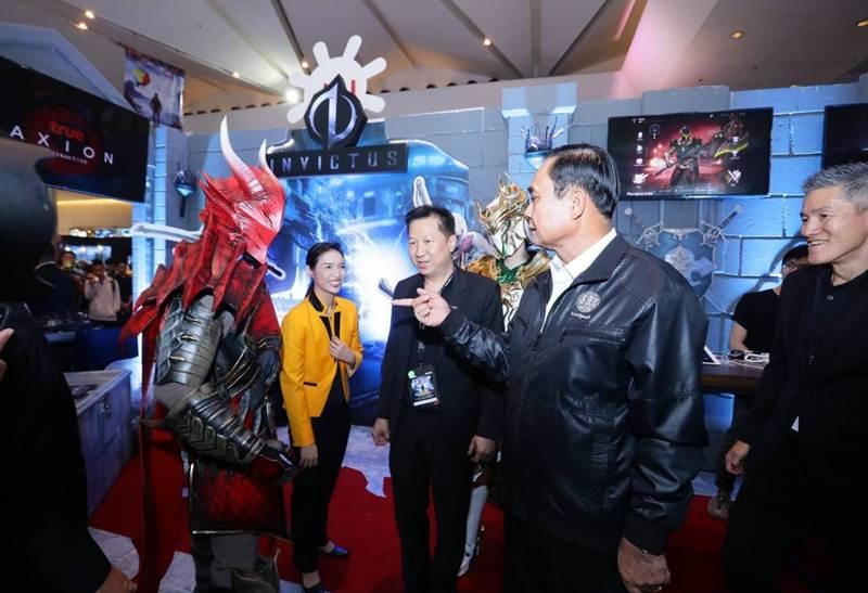 พล.อ.ประยุทธ์ จันทร์โอชา ชมงาน Thailand Game Show 2018