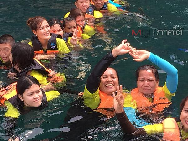 รับไฮซีชั่น! นักท่องเที่ยวไทยเทศแห่เที่ยวทะเลตรังคึกคัก
