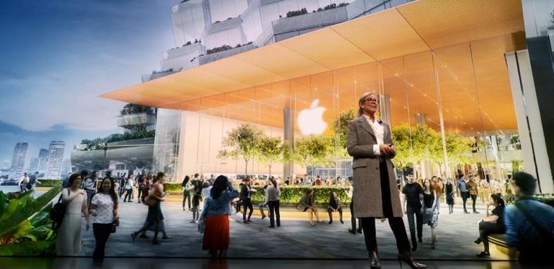 Apple Store สาขา Iconsiam โชว์โฉมที่นิวยอร์ก