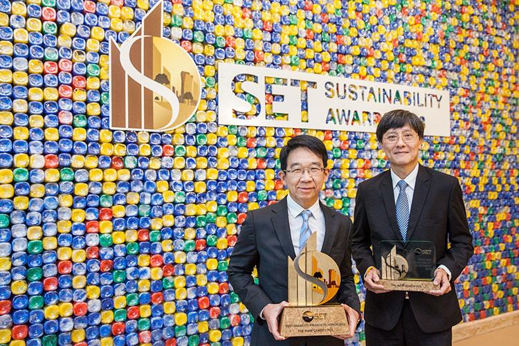เอสซีจี ตอกย้ำการเป็นองค์กรต้นแบบด้านความยั่งยืน คว้า SET Sustainability Awards 2018 ต่อเนื่องเป็นปีที่ 4