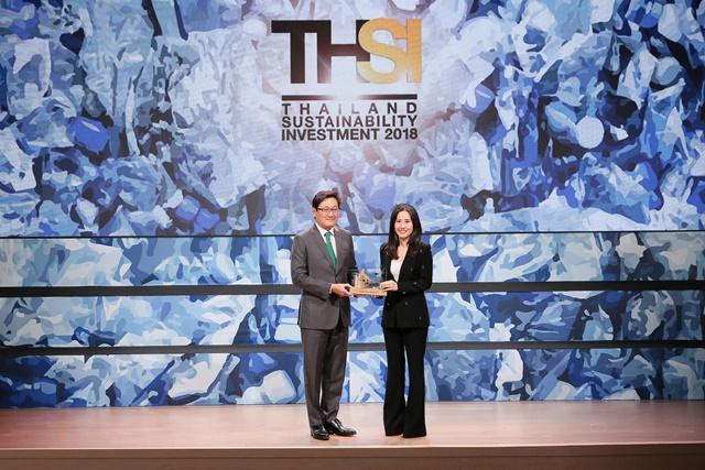 """ซินเน็คฯ คว้ารางวัล """"หุ้นยั่งยืน"""" Thailand Sustainability Investment 2018"""