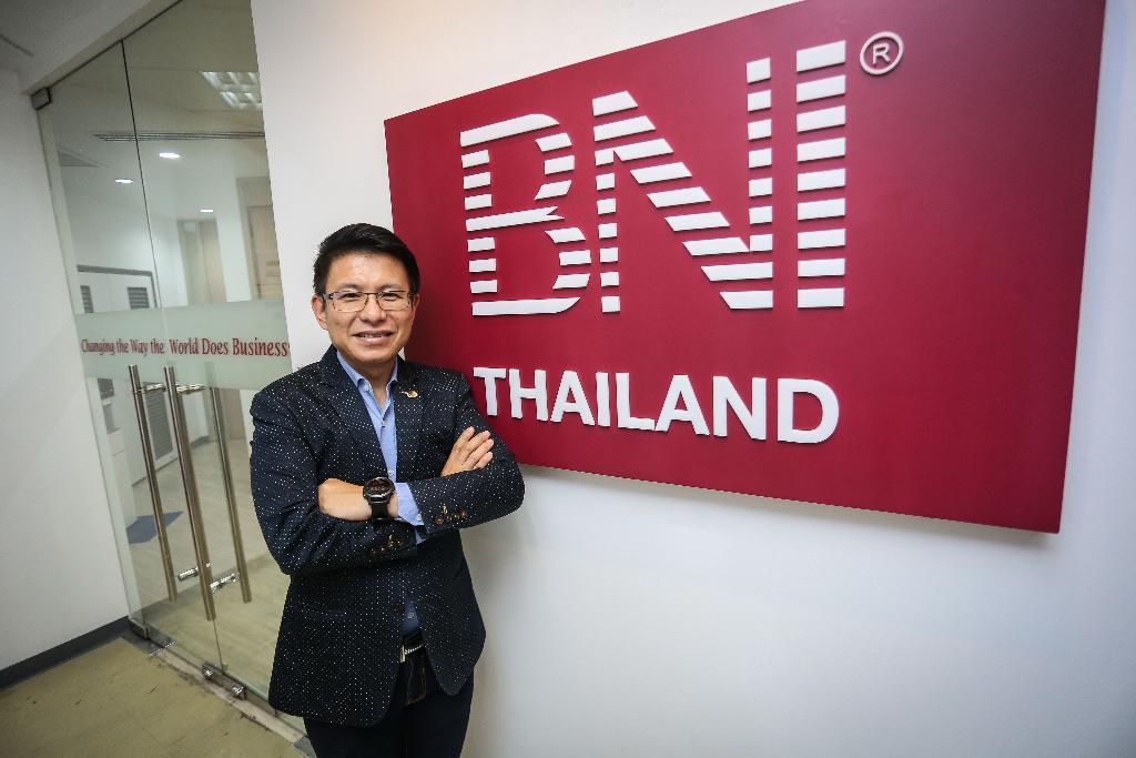 นายกลกิตติ์ เถลิงนวชาติ ประธานอำนวยการ BNI ประเทศไทย