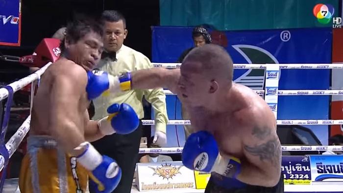 ชิงแชมป์กับ ขุนดอน ทรายทองยิมส์