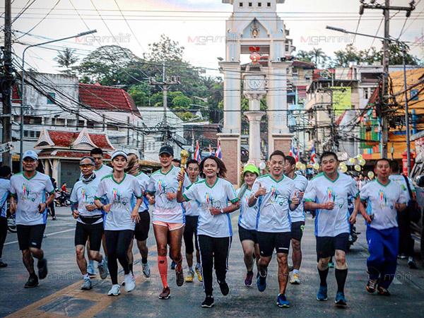 """ออกสตาร์ท! แพทย์พร้อมชาวเบตงร่วมวิ่งเพื่อสุขภาพในโครงการ """"หมอชวนวิ่ง"""""""