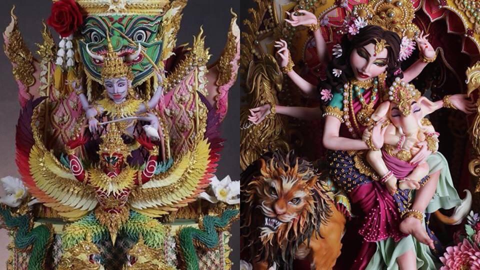 คนไทยร่วมยินดี ศิลปินสร้างสรรค์เค้กน้ำตาลปั้นสัญชาติไทยคว้า 2  เหรียญทองที่อังกฤษ
