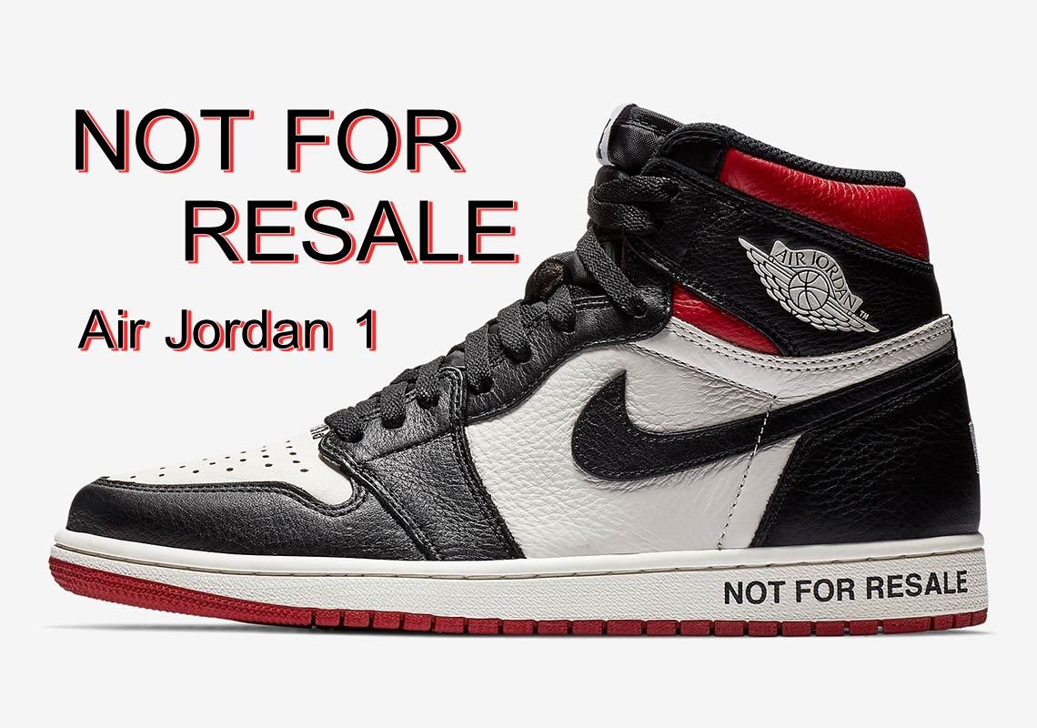 "Air Jordan 1 ""Not For Resale""  ซื้อได้ แต่เราไม่อยากให้ขายต่อ"