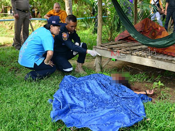 คนร้ายจ่อยิงเจ้าของบ่อตกปลาใน จ.พัทลุง ขณะนอนเฝ้าที่ศาลาช่วงกลางดึกเสียชีวิต