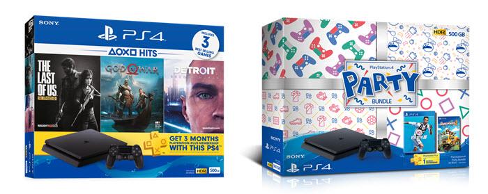โซนี่เปิดตัว PlayStation 4 Bundle สองชุดใหม่ พร้อมจำหน่าย 15 พ.ย.นี้