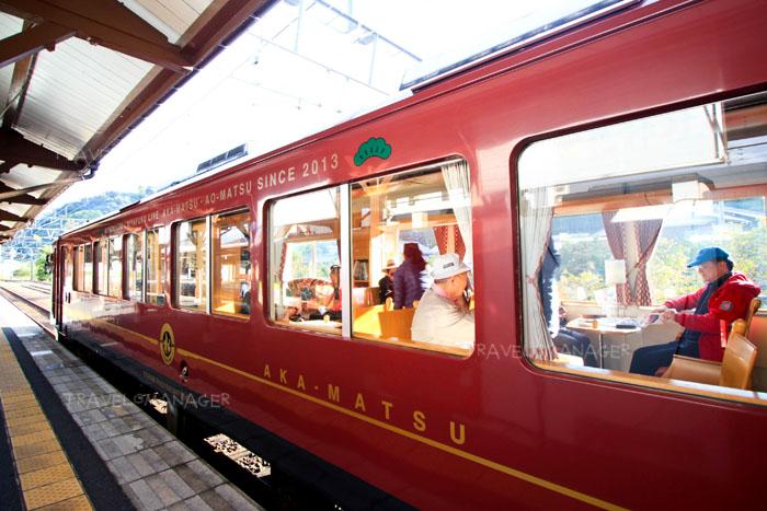 รถไฟขบวน Tango Akamatsu