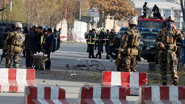 คนร้ายระเบิดฆ่าตัวตายในเมืองหลวงอัฟกานิสถาน มีผู้เสียชีวิต 6 ราย