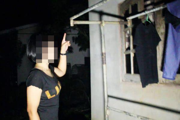 สาวกู้ภัยชุมพรผวาโจรโรคจิตย่องลักกางเกงในตากไว้หน้าบ้าน