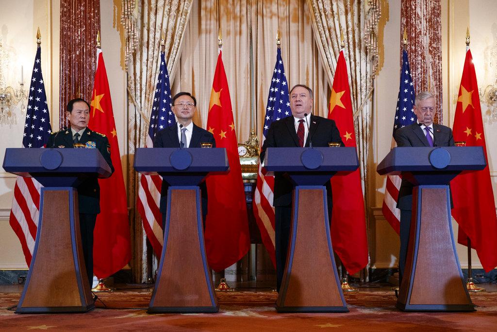 'สหรัฐฯกับจีน' ตกลงยินยอมที่จะ'เห็นแตกต่างกัน' ระหว่างการสนทนาของเจ้าหน้าที่ระดับท็อป