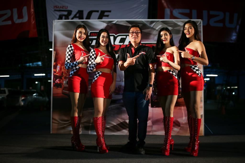 อีซูซุ เฟ้นแชมป์ความเร็วรอบชิง ใน Isuzu Race Spirit2018