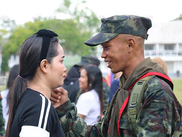 ค่ายเสนาณรงค์เปิดกรมครั้งแรกให้ครอบครัวเยี่ยมทหารใหม่ผลัดที่ 2
