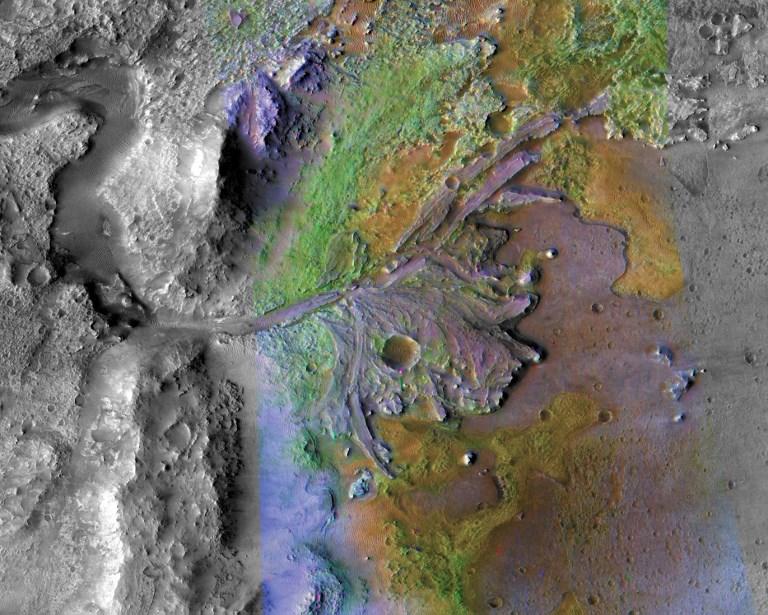 นาซาเลือกจุดลงจอดยานสำรวจร่องรอยสิ่งมีชีวิตบนดาวอังคาร