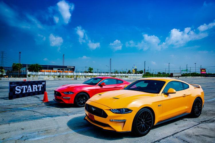 ฟอร์ด MW นครอินทร์-ราชพฤกษ์ รุกตลาดจัดทดสอบรถ New Ford Mustang 2018