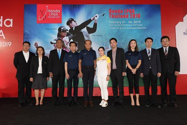 เครือเบทาโกรสนับสนุนการแข่งขันกอล์ฟ Honda LPGA Thailand 2019