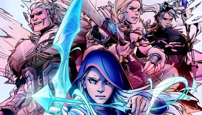League of Legends ผนึก Marvel เปิดตัวคอมิคฮีโร่ธนูน้ำแข็ง