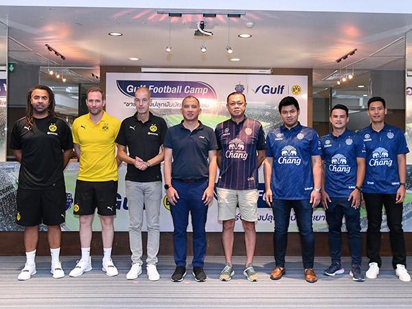 """กัลฟ์ผนึกกำลังบุรีรัมย์ ยูไนเต็ด เปิดโครงการ """"Gulf Football Camp : ชาร์จพลังปลุกฝันนักเตะเยาวชน"""""""