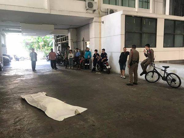 หนุ่มอิหร่านดิ่งตึกรร.อินทามระชั้น8 ดับ สอบห้องที่เกิดเหตุไม่พบร่องรอยการต่อสู้