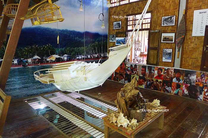 """""""พิพิธภัณฑ์ชุมชนชาวเกาะลันตา"""" จัดแสดงเรื่องราวชาวเกาะลันตา"""