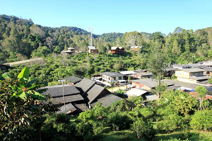 บ้านห้วยน้ำกืน หมู่บ้านเล็กกลางป่าใหญ่