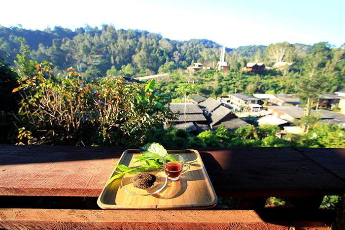 จิบชา กาแฟ แลหมู่บ้านห้วยน้ำกืน