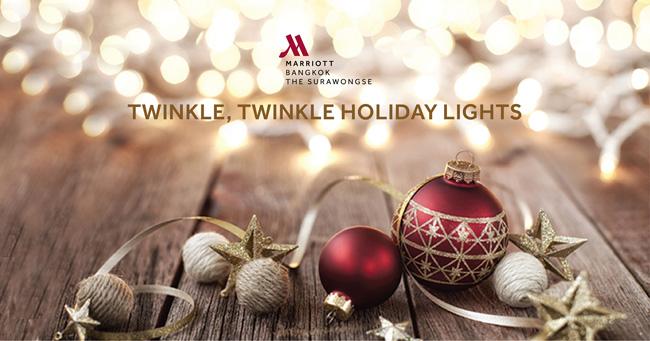 เฉลิมฉลองต้อนรับเทศกาลคริสต์มาสและปีใหม่กับช่วงเวลาแห่งความสุขส่งท้ายปีเก่า ณ โรงแรม แบงค็อกแมริออท เดอะ สุรวงศ์