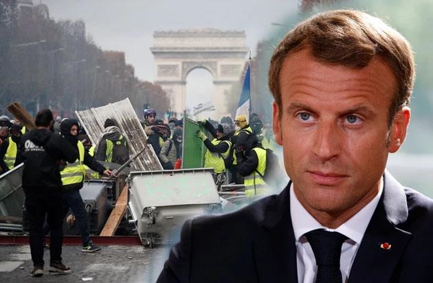 """เผยเบื้องหลังผู้ชุมนุมเสื้อกั๊กเหลือง """"ชีเล่ท์ โชน"""" ชี้ชัด ปธน.ฝรั่งเศส """"เอ็มมานูเอล มาครง"""" ทำเพื่อตัวเอง!"""